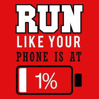 run battery 1 percent