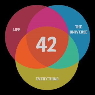 the answer to life the universe everything 42