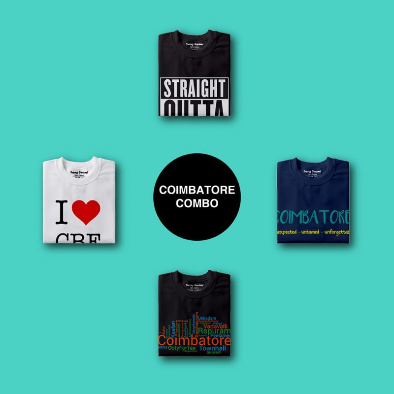 swag swami coimbatore unisex t shirts combo pack 4 nos 1