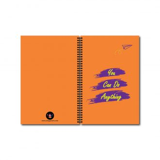 swag swamiyou can do anything motivation notebook front and back