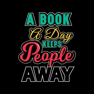 a book a day keeps people away