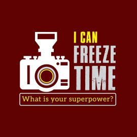 i can freeze photography t shirts combo pack