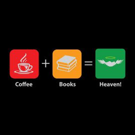 my idea of heaven coffee books