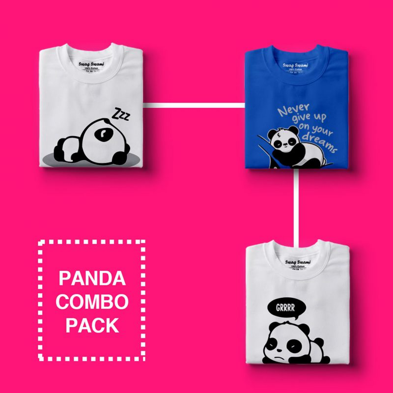 cute panda collection combo pack