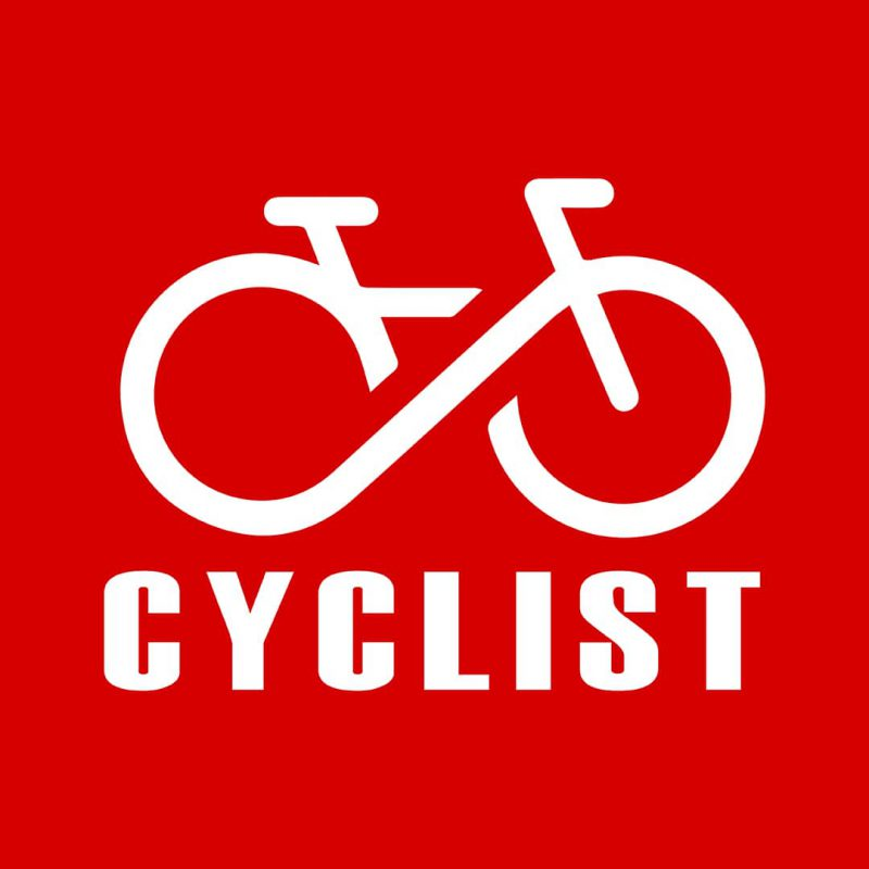 cyclist logo cycling combo pack 2 casual cotton t shirts