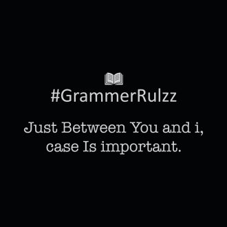 grammar rules sarcasm case is important