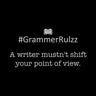 grammar rules sarcasm shifting point of view