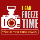 i can freeze time what is your superpower photographer