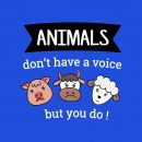 vegan combo animals dont have a voice but you do
