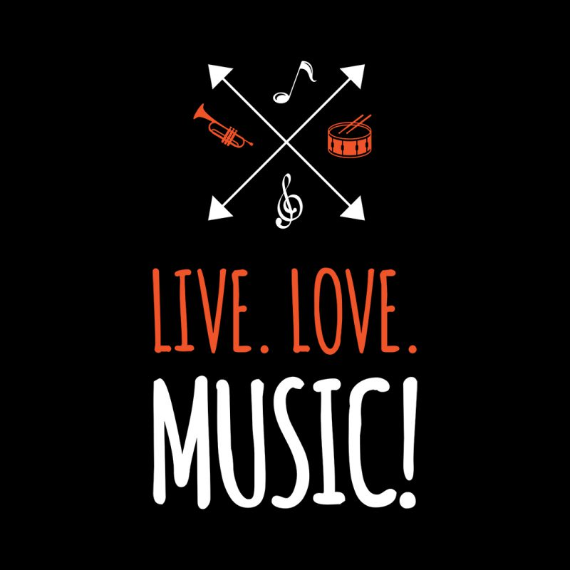live love music and musical instruments