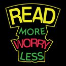 read more worry less reading themed