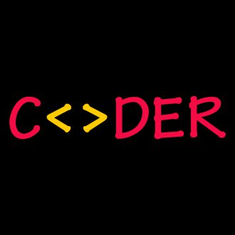 coder unisex polo t shirt design