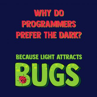 developers prefer the dark funny and creative