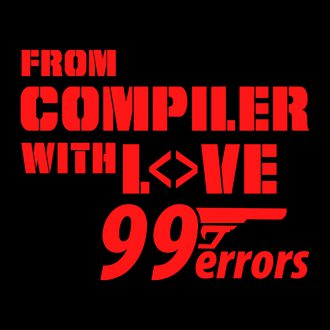from compiler with love 99 errors funny developer