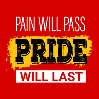 45de5735 pain will pass pride will last motivate fellow runners