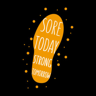 549ec44f sore today strong tomorrow motivate fellow runners