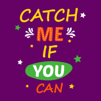 990058aa catch me if you can runner marathon motivation