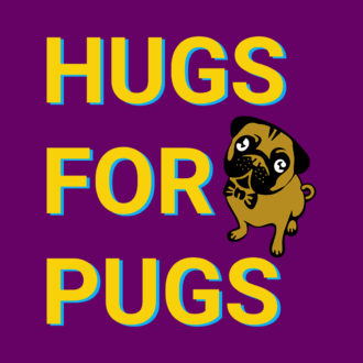 a6019ced hugs for pugs cute pet dog