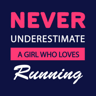 a78282e4 never underestimate a girl who can run running pride