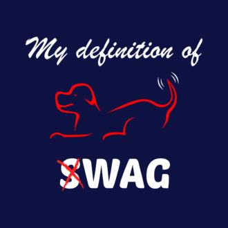 d3d242be my defintion of swag is wag cute pet dog