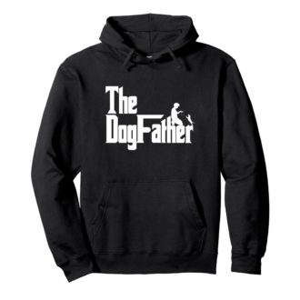 0f853e62 the dogfather classic movie pet owner dog lover gift unisex hoodie black front