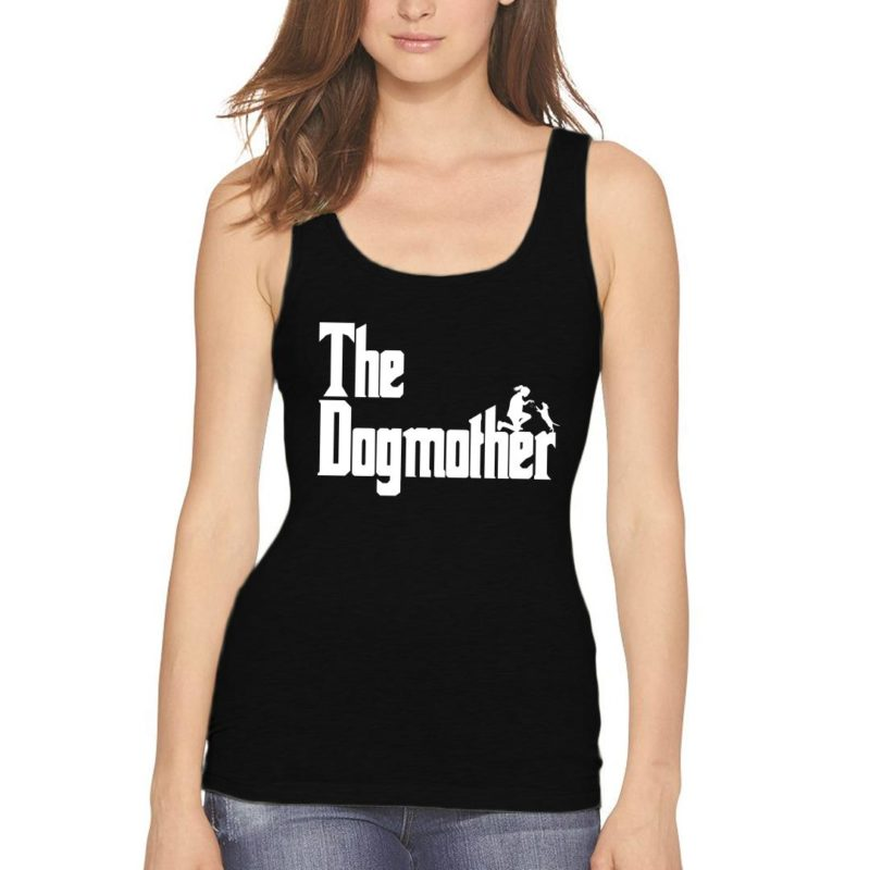 13c6ceef the dogmother classic movie pet owner dog lover gift women tank top black front