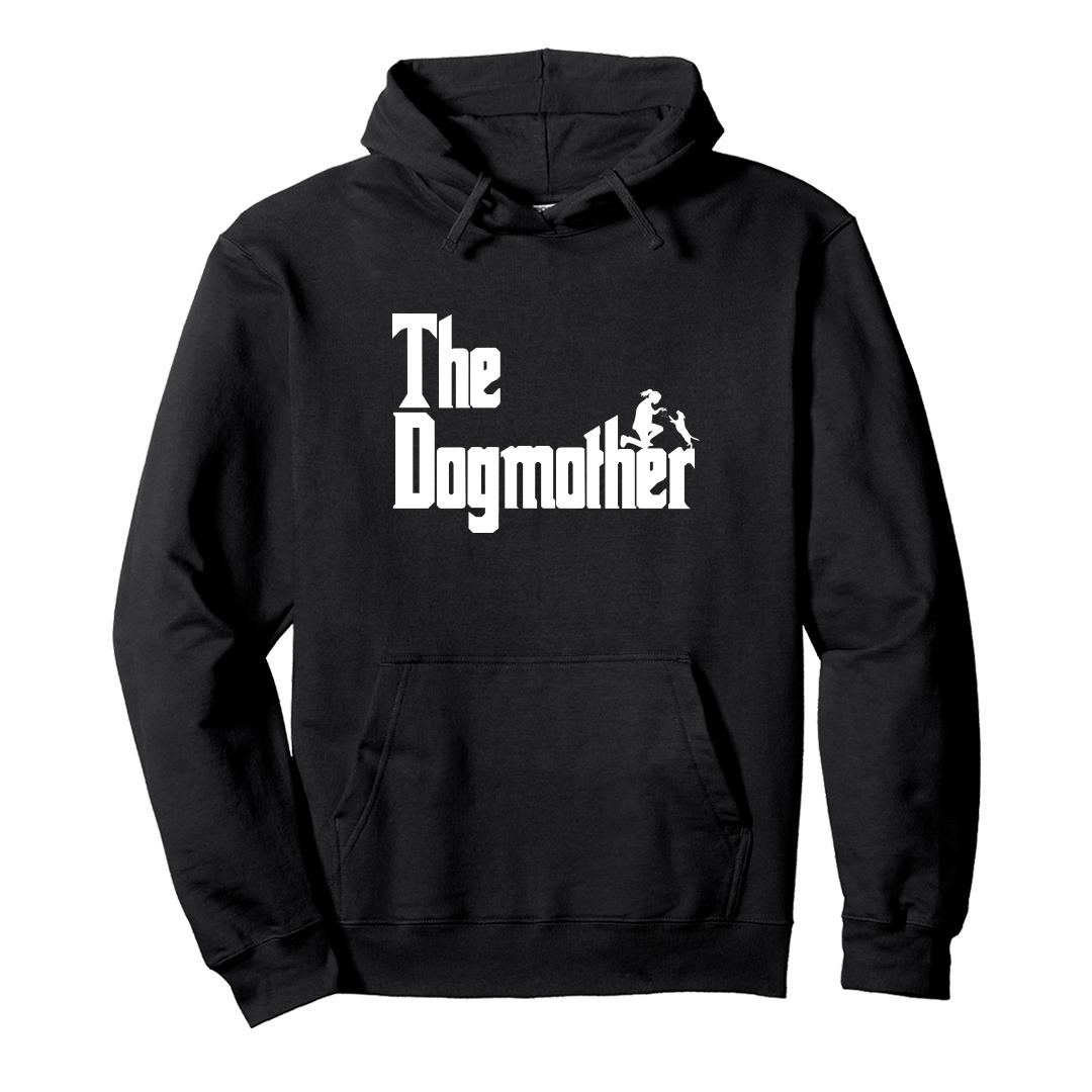 23aaccd1 The Dogmother Classic Movie Pet Owner Dog Lover Gift Unisex Hoodie Black Front