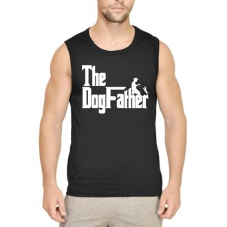 55fa7bb1 the dogfather classic movie pet owner dog lover gift men sleeveless t shirt black front