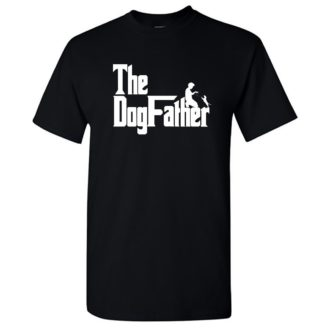 57526312 the dogfather classic movie pet owner dog lover gift round neck t shirt black front