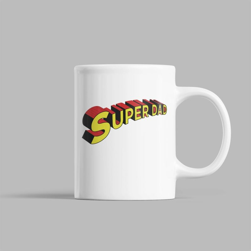 5d8eed95 super dad 3d text fathers day gift coffee mug design min