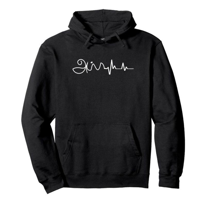 7cfbc1ae appa is in my heartbeat fathers day gift unisex hoodie black front