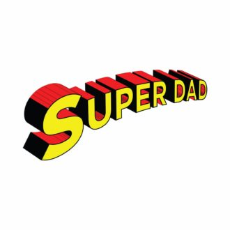 88ef5752 super dad 3d text fathers day gift coffee mug min
