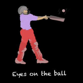 5c0ed3f2 eyes on the ball for cricket lover