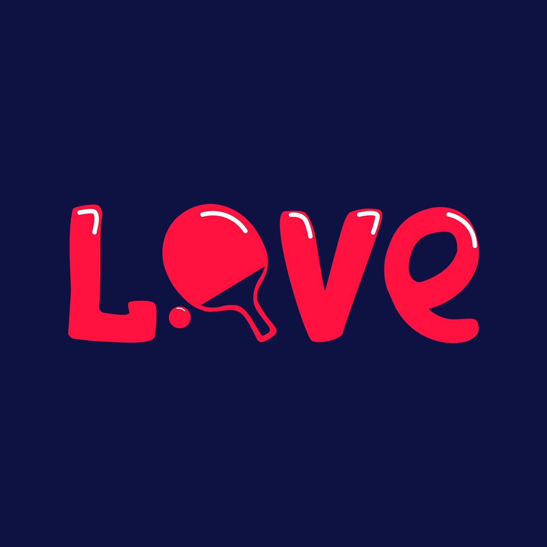 10bc45ff Love Table Tennis Tt Player Gift