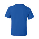 7f1a98bc kids t shirt royal blue back
