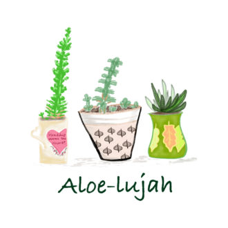 91479865 aloe lujah for plant lover