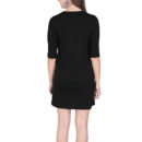 96e7d817 women t shirt dress black back