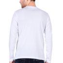 b3d9898b full sleeve men t shirt white back