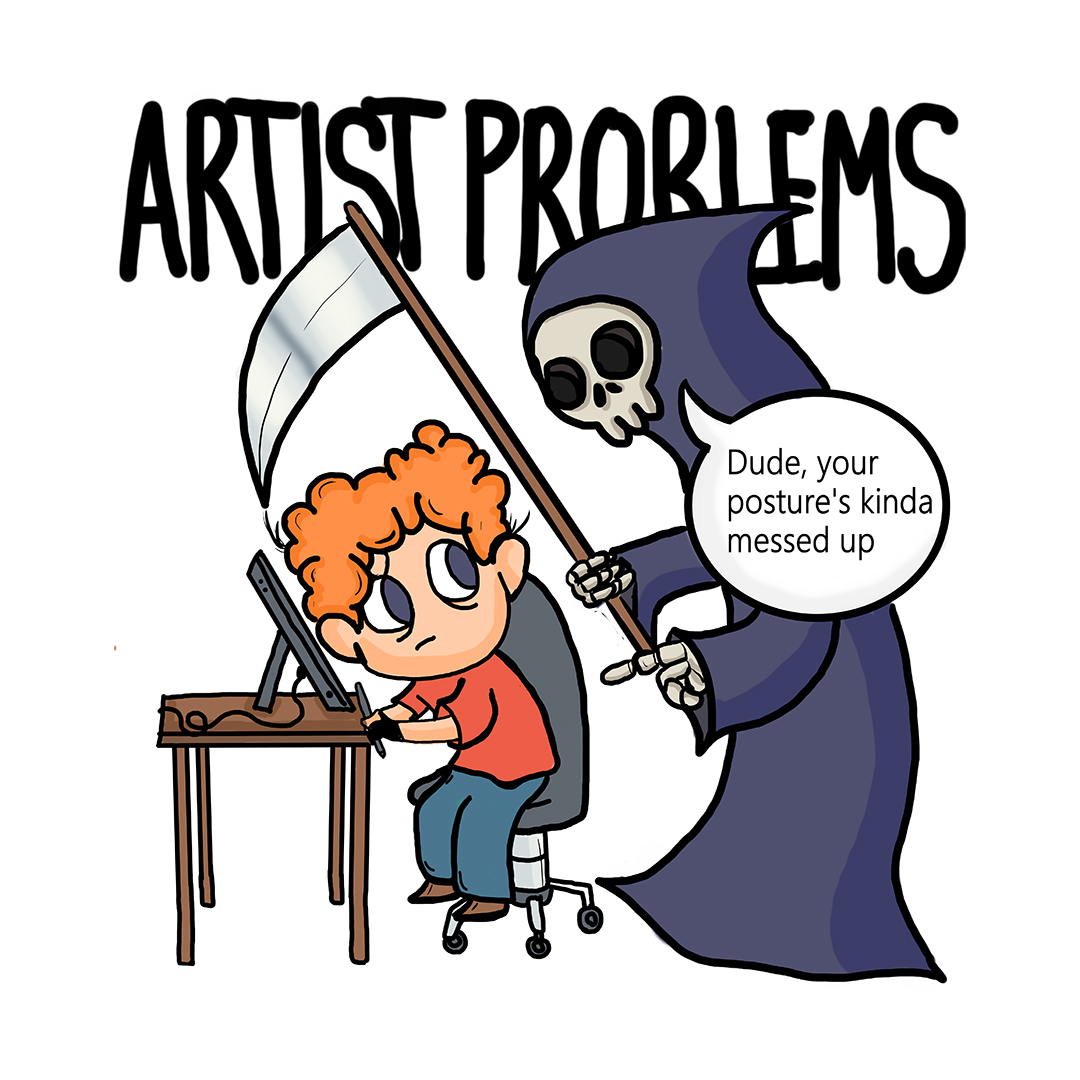 Artist Problems 1 Posture Unisex T Shirt Swag Swami