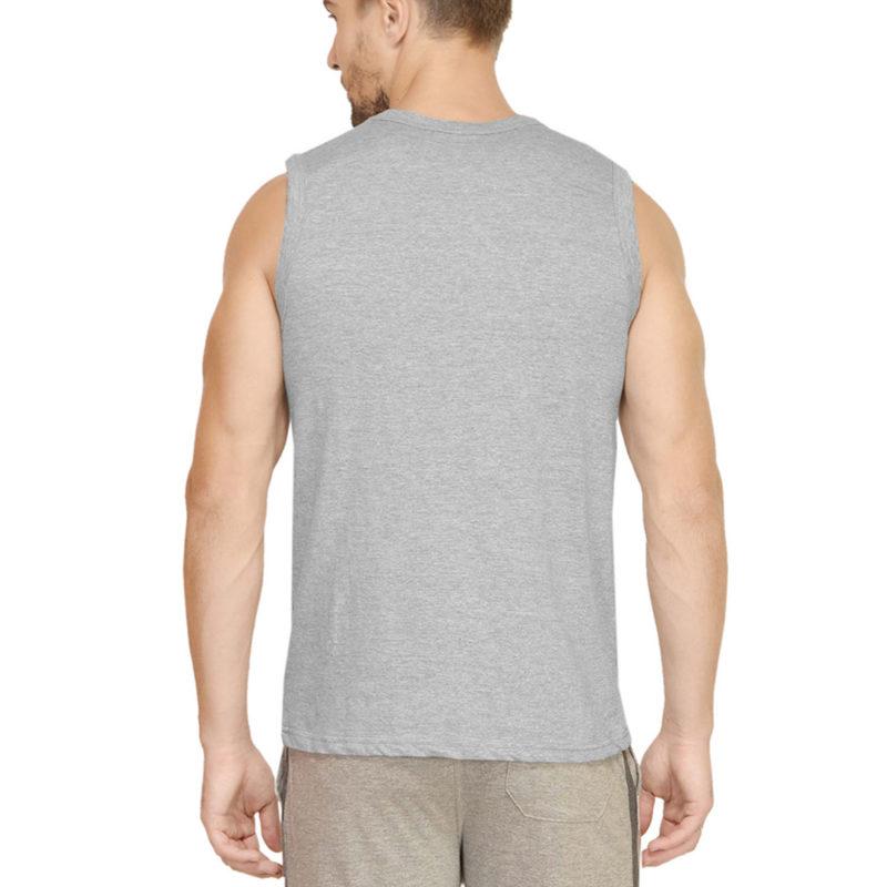 dd7bd451 men sleeveless t shirt vest grey back