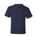 e6f1220a kids t shirt navy back