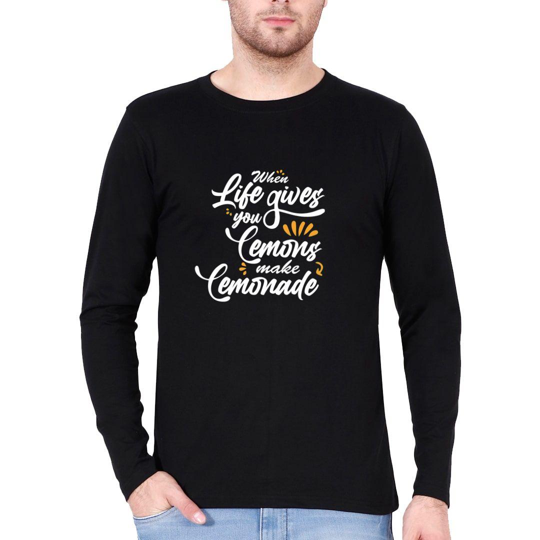 09bb570f Cool Attitude About Life Full Sleeve Men T Shirt Black Front.jpg