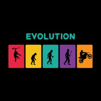 0db7bc42 evolution of bikers funny creative quirkyblack