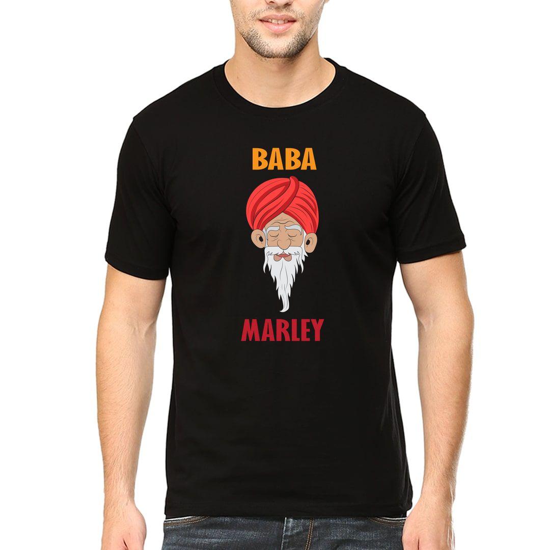 1522060a Baba Marley Men T Shirt Black Front.jpg