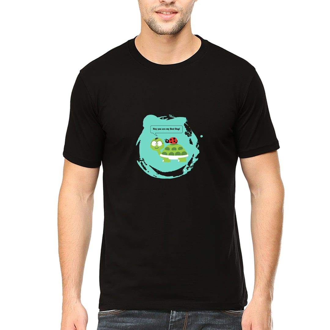 1dc4881a You Are My Best Bug Men T Shirt Black Front.jpg