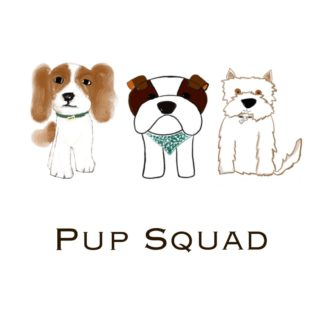249c69f5 pup squad for dog loverwhite
