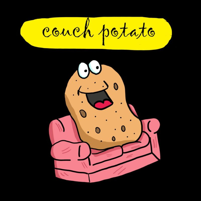 46d7b392 couch potato for chilling and relaxingblack