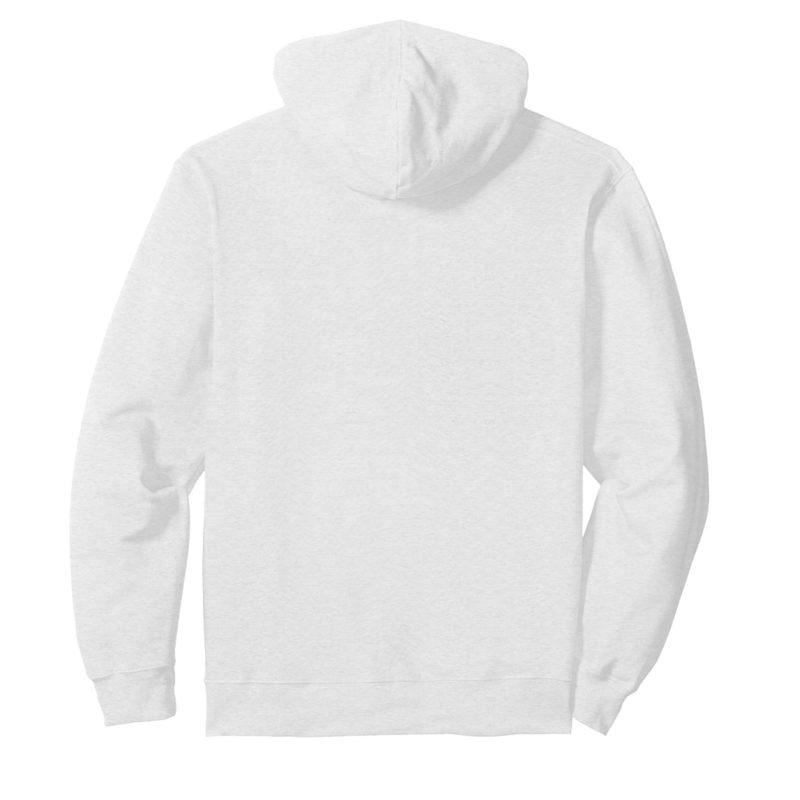 49224037 unisex hooded sweatshirt hoodie white back