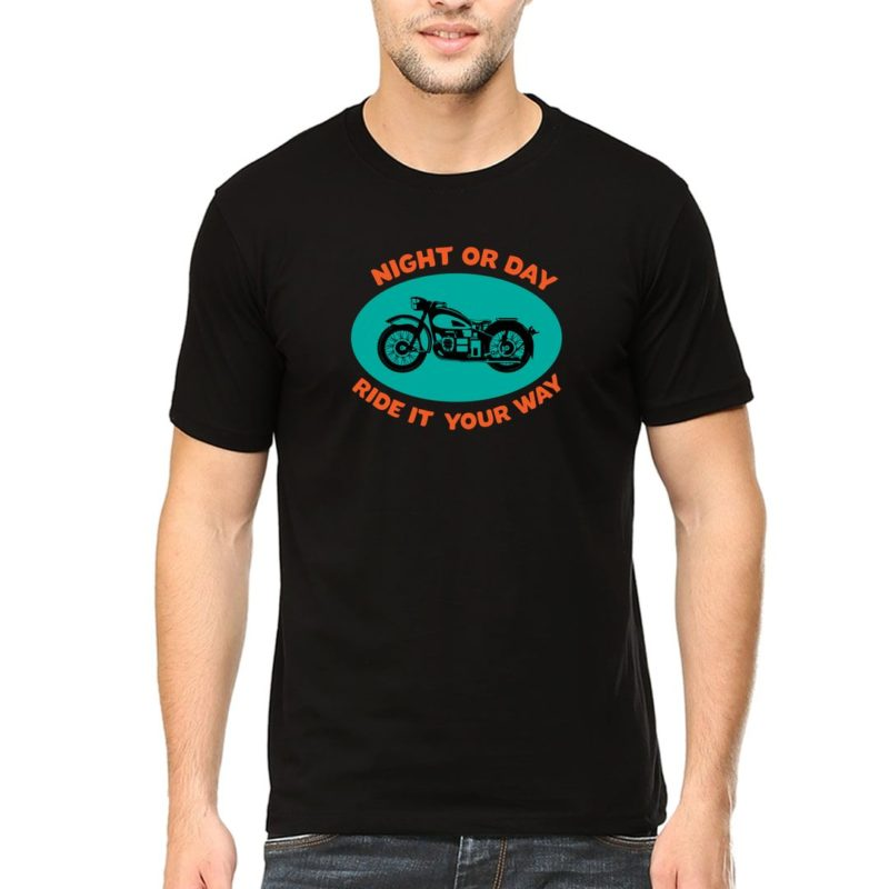 5556d2e2 night or day ride it your way slogan for bikers and bike lovers men t shirt black front.jpg