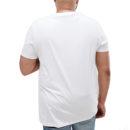 7d726970 plus size t shirt white back